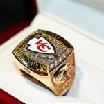 Kansas City Chiefs Ambassador Ring