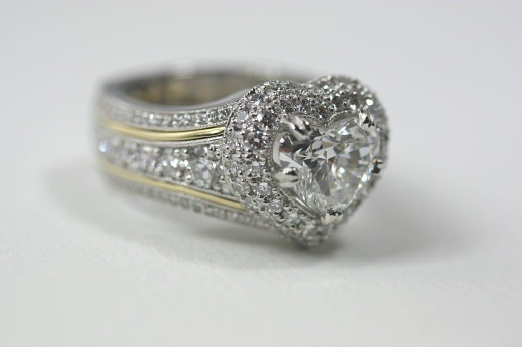 Custom Heart Diamond