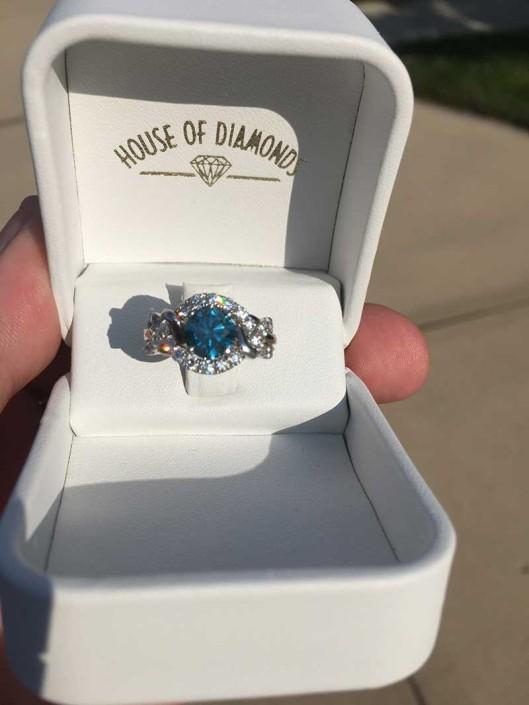Trista Blue Diamond