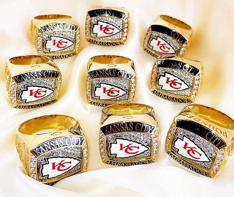 2016 KC Chiefs Ambassador Rings