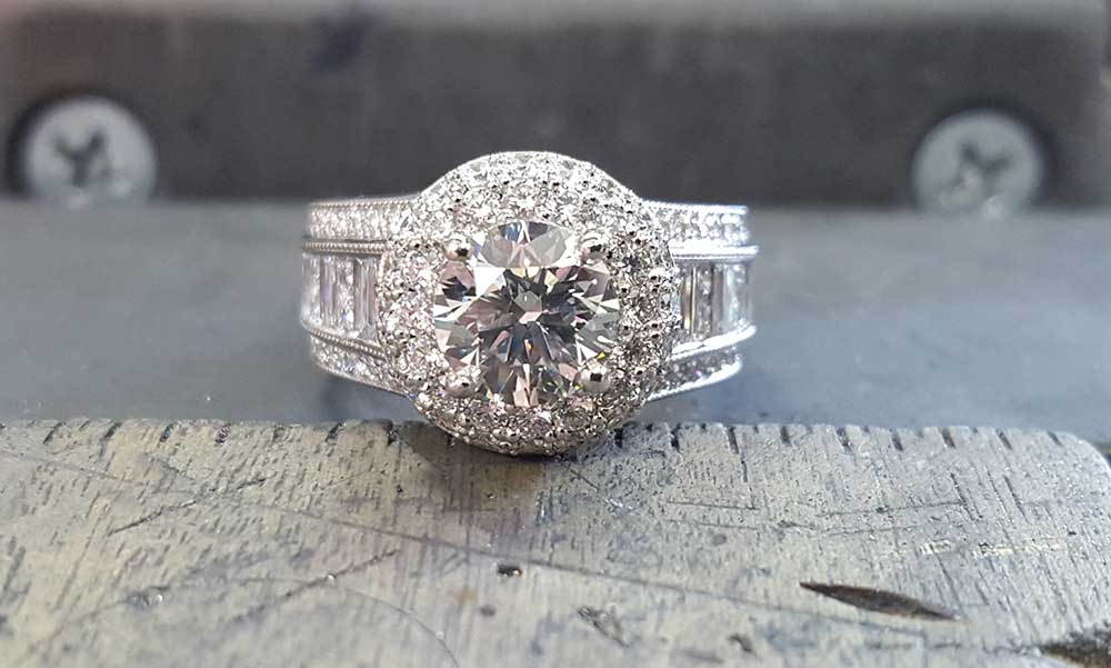 Corey Created a Beautiful Wedding Ring for His Bride House of Diamonds