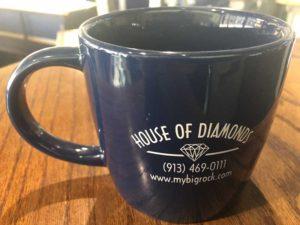 House of Diamonds Mug