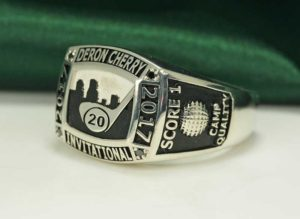 2017 Derron Cherry Celebrity Invitational - Custom Rings