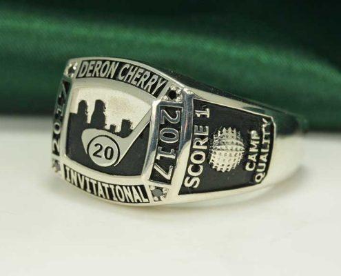 2017 Derron Cherry Celebrity Invitational - Custom Rings