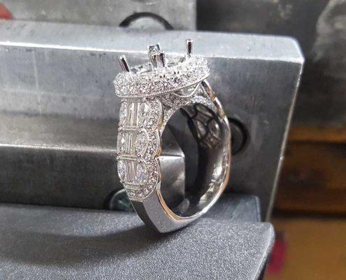 House Of Diamonds - Design Desk - Custom Engagement Ring Setting