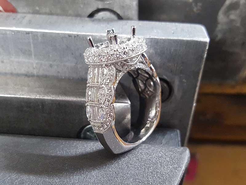 From the design desk stunning engagement ring setting for Home design diamonds