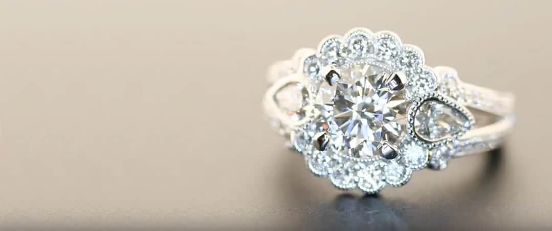 Customized Diamond Ring house of Diamonds
