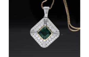 custom diamond necklace